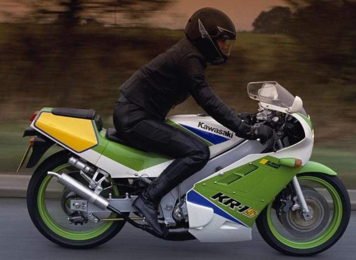 Kawasaki KR-1S Ride