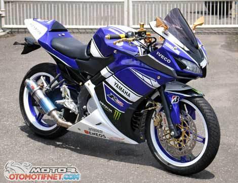 Modifikasi Yamaha New Vixion Ala R25 Mantap Joss Ea S Blog