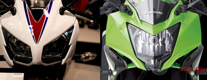 CBR vs RR Mono Headlamp
