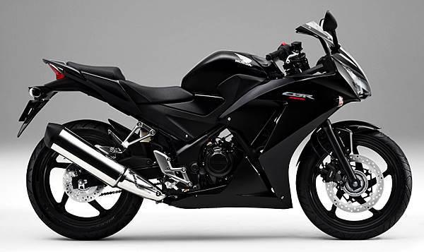 CBR250R Millenium Black