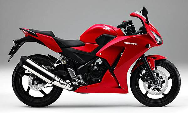 CBR250R Millenium Red