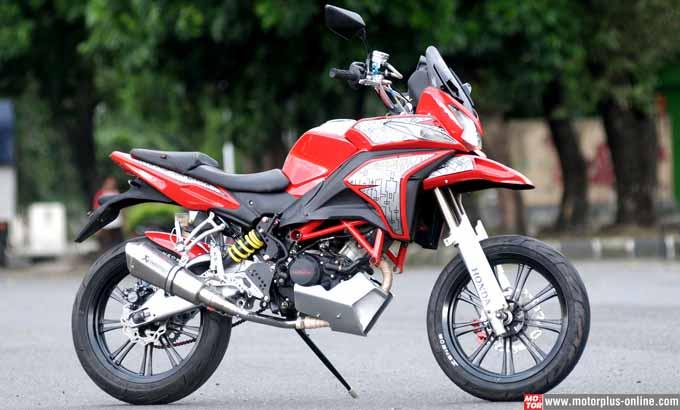 Wow, Modifikasi Honda CS1 yang Satu Ini Keren Abis ! - EA