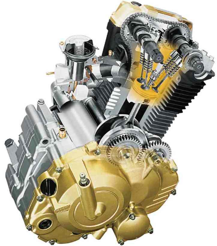 Gixxer DOHC Engine