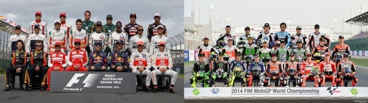 F1 & GP Riders