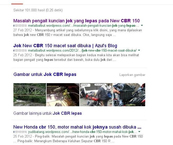 Googling CBR