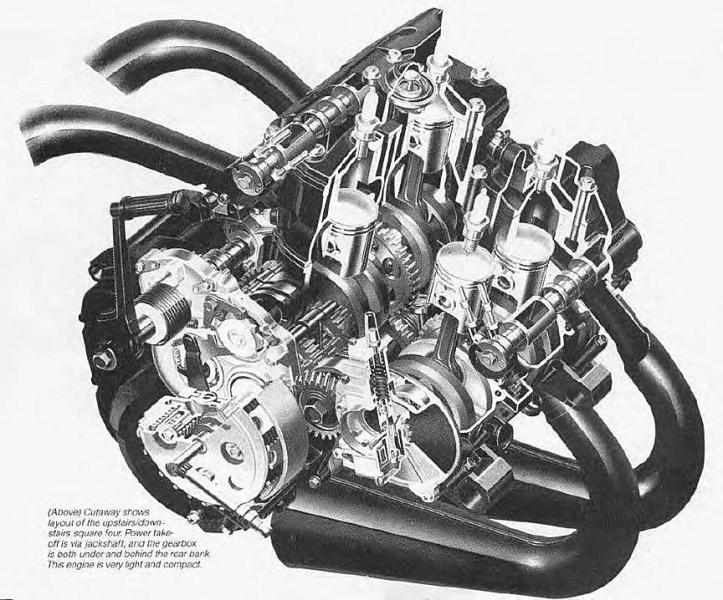 RG500 Engine Diagram