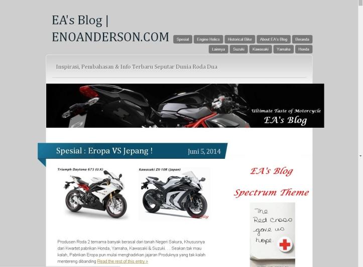 EA's Blog Spectrum