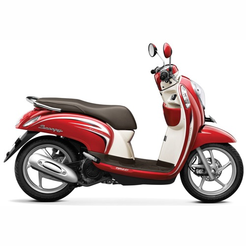 Scoopy Vogue Red