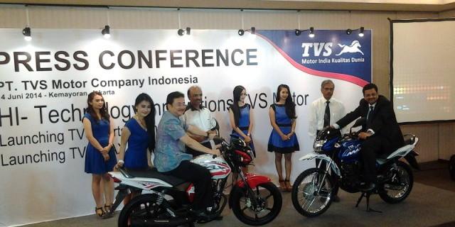 TVS Max 125 Rilis