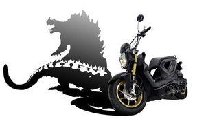 Zoomer X Black Monster