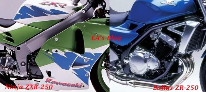 ZXR vs ZR Frame