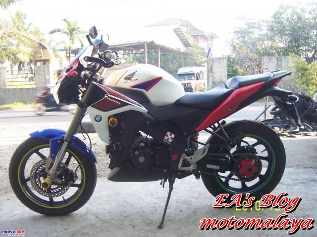 Modifikasi Honda Cbr150r Ala Naked Tourer Mantap Joss Ea S Blog Enoanderson Com