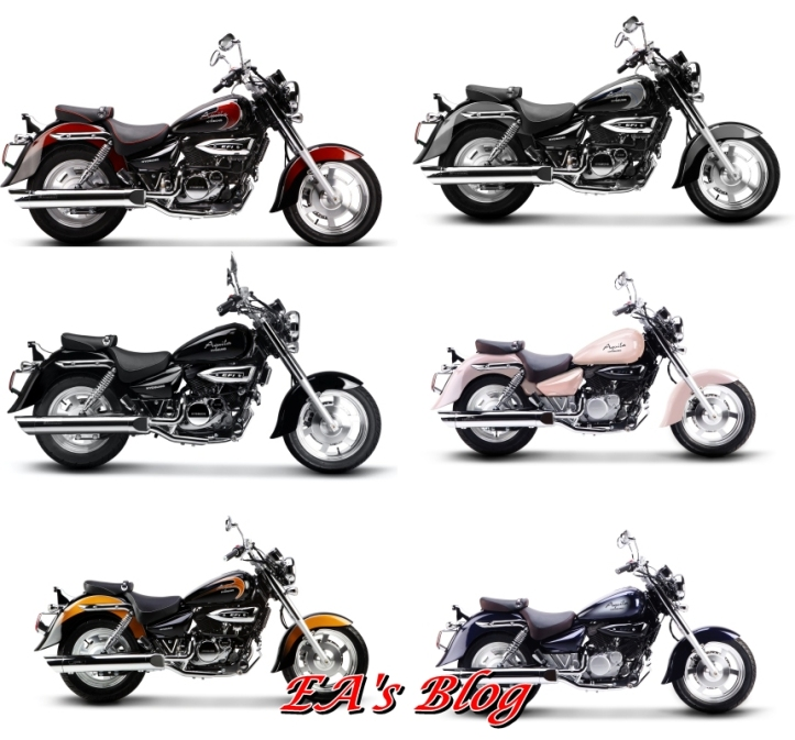 Hyosung GV250 Aquila Colors