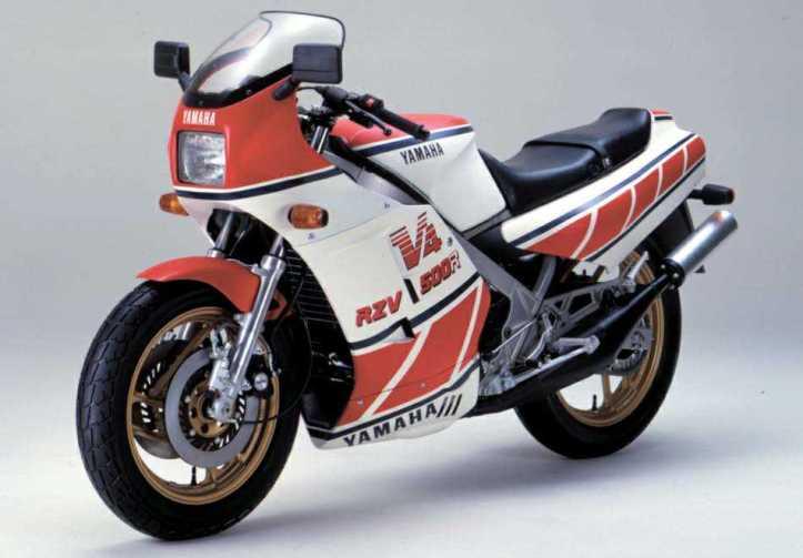 Yamaha RZV500R 8