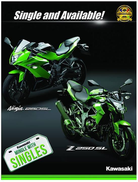 Z250SL & Ninja 250SL