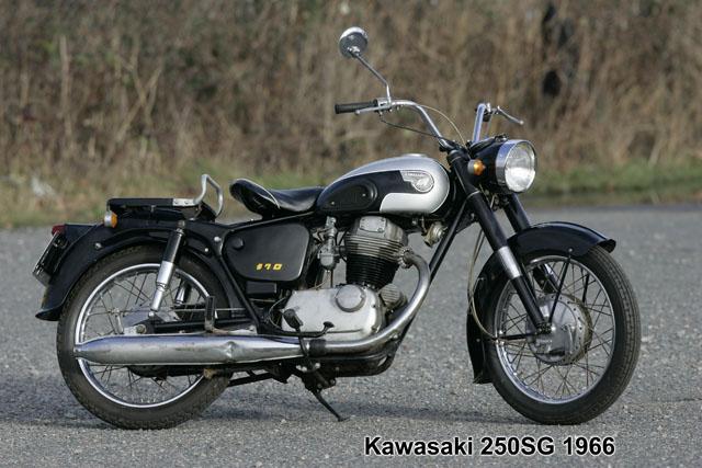 Meguro 250 SG 2
