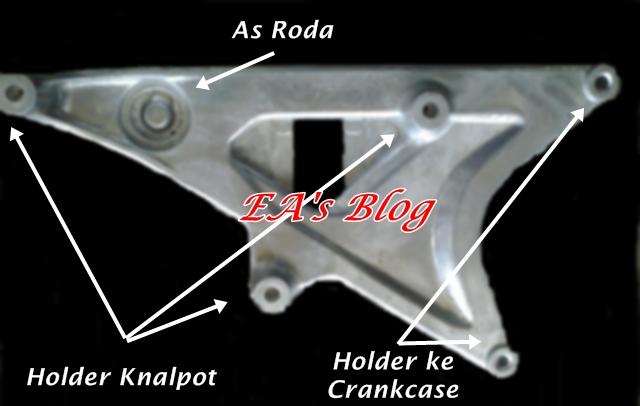 Swing Arm K59 Detail