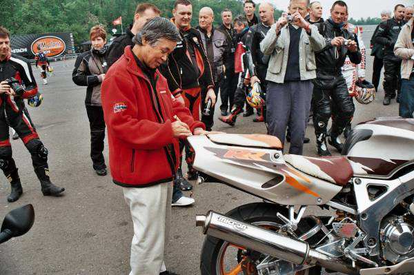 Tadao Baba & CBR900RR