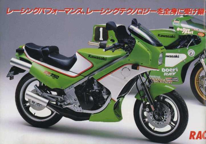 Kawasaki KR 250 Tandem Twin