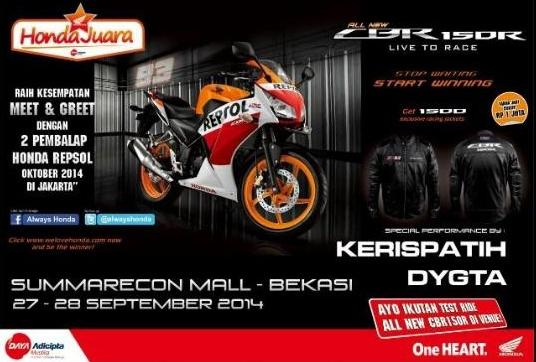 Launching All New CBR Bekasi