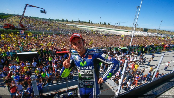 Rossi Wins Misano