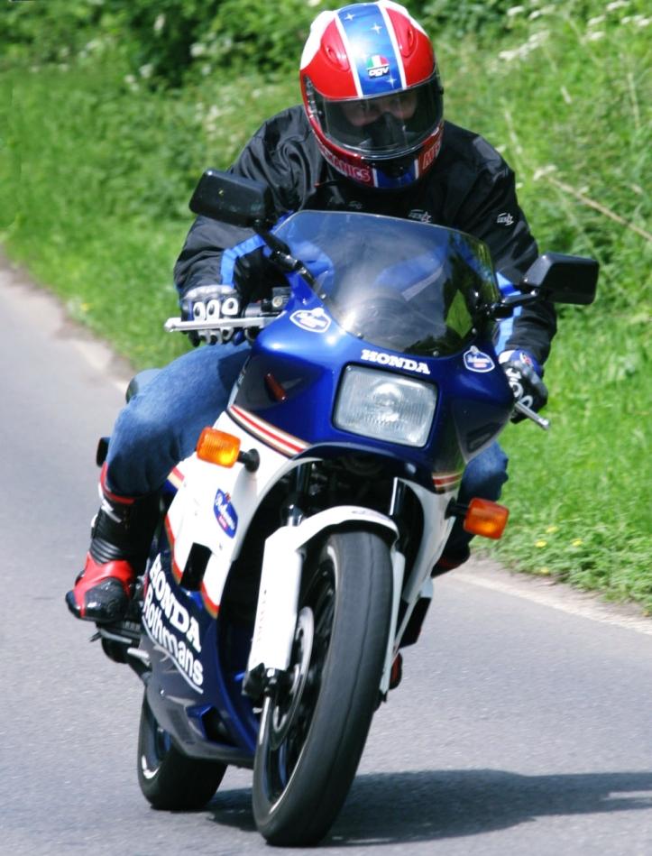 NS400R Ride
