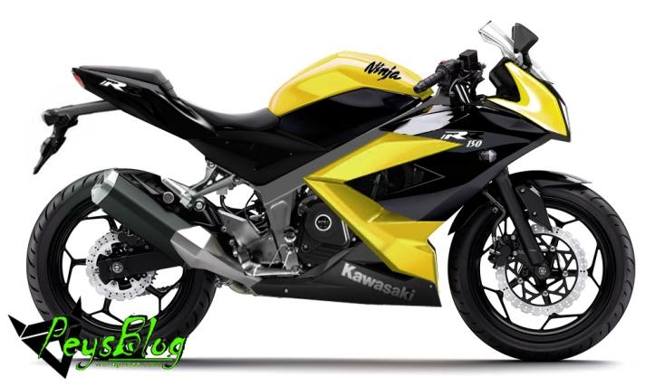 Ninja 150 4-Tak Kuning