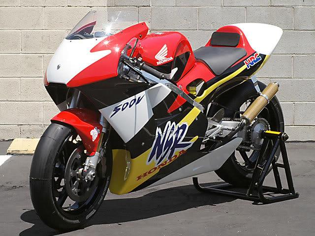 NSR500V Main