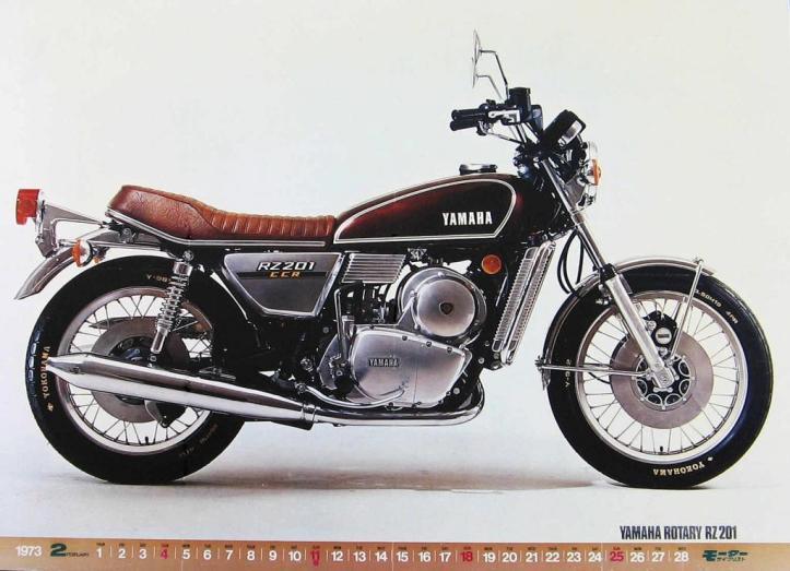 Yamaha RZ201 Wankel Rotary Engine 3