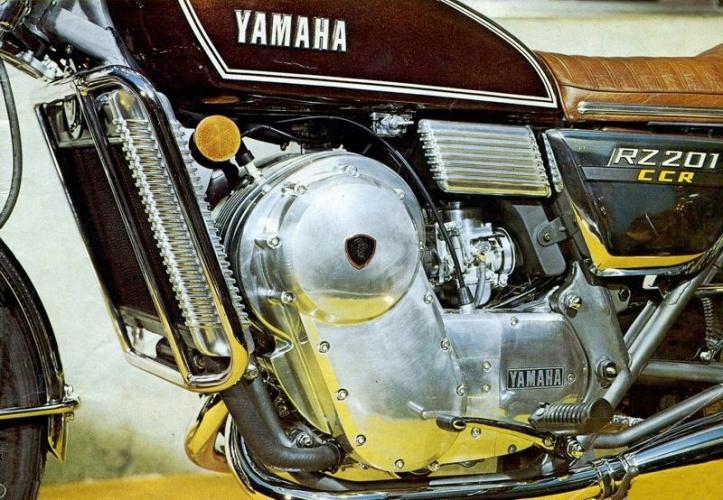 Yamaha RZ201 Wankel Rotary Engine 4