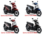 All New Honda Beat ESP Warna