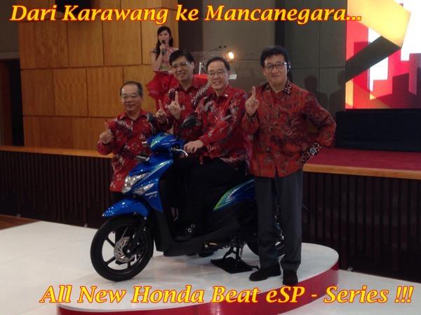 All New Honda Beat POP eSP Main