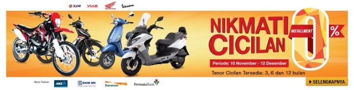 Banner Promo Cicilan Motor