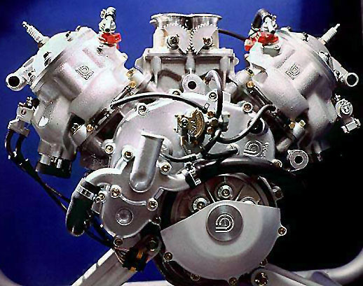 Bimota V-Due Engine 3