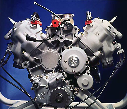 Bimota V-Due Engine