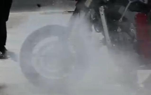 Burnout Front Wheel 5