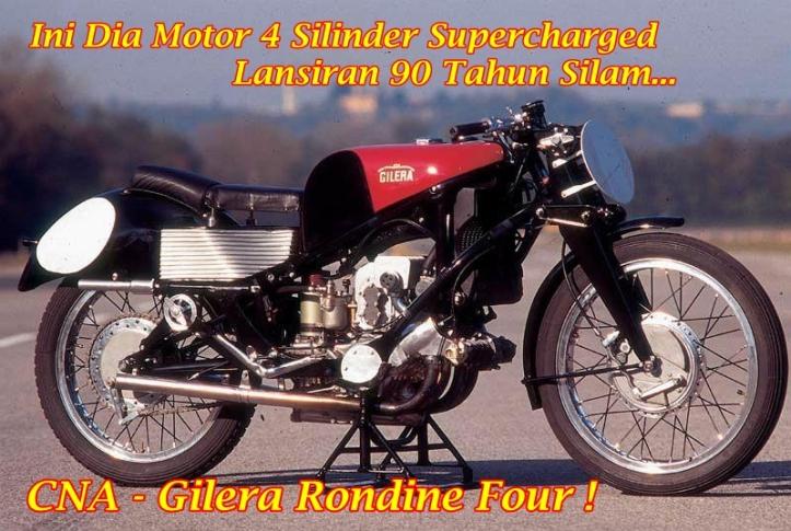 Gilera Rondine Four Main