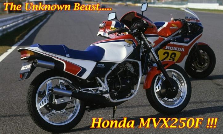 Honda MVX 250F 1