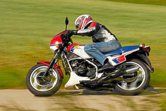 Honda MVX 250F 8