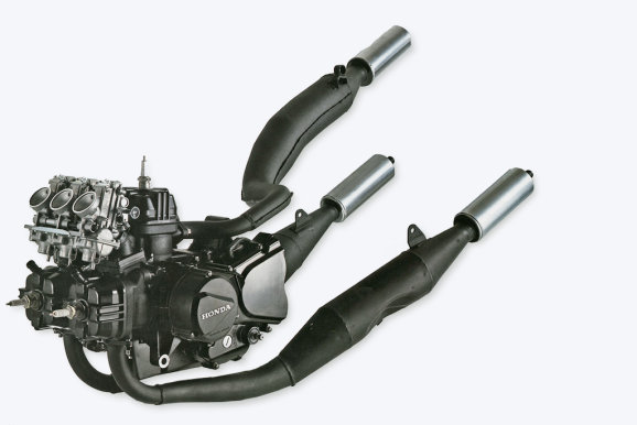 Honda MVX 250F Engine 2