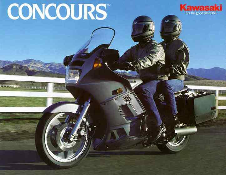 Kawasaki Concours 1986