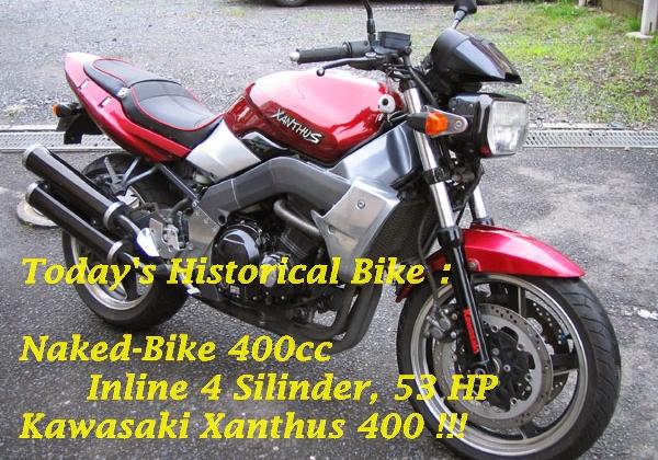 Kawasaki Xanthus ZR400 Main