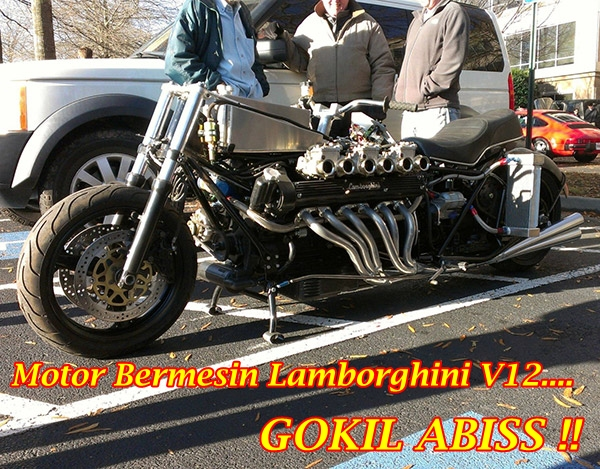 Lamborghini Motorcycle V12 Main