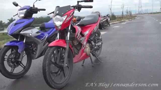 MX King & Satria FU 150 12