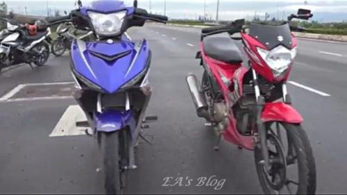 MX King & Satria FU 150 3