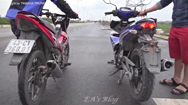 MX King & Satria FU 150 7