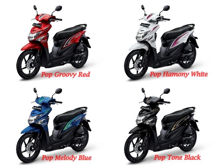Pilihan Warna Honda Beat POP