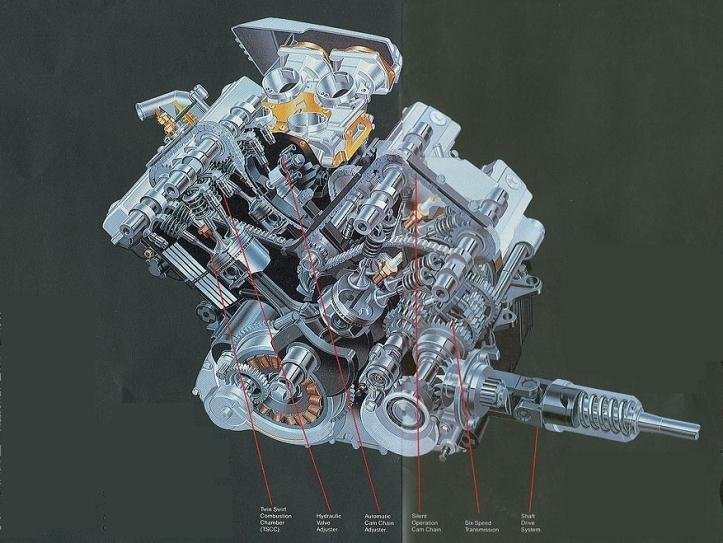Suzuki Madura Engine 2