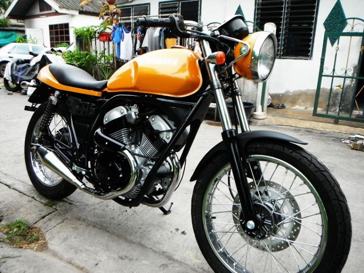 Yamaha SRV 250 Custom 2