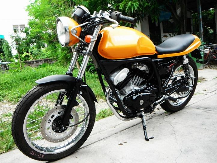 Yamaha SRV 250 Custom 9